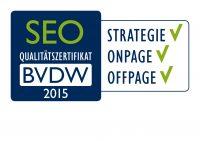 BVDW 2015 Zertifikat_Logos_SEO