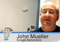 Bild John Müller Google Webmaster Hangout