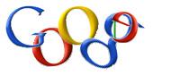 Google Logo in Form der olympischen Ringe