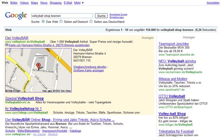Google Adwords PlusBox Beispiel 2