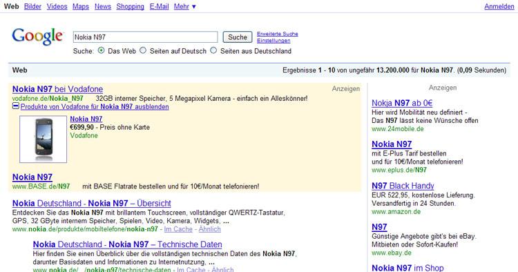 Google Adwords PlusBox Beispiel 4