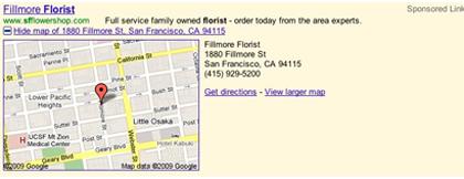 Googles Local Extensions