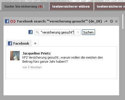 Spracheinstellung Facebook Monitoring
