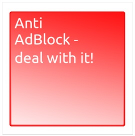 Anti AdBlock Logo