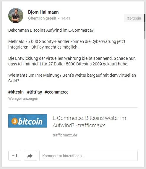 Google+ Post 2