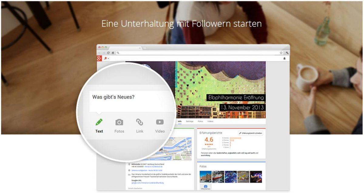 Google My Business Follower generieren