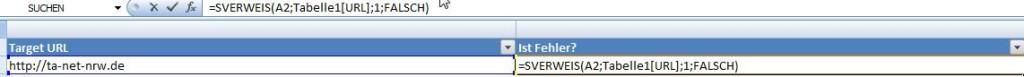 URL-Match mit SVERWEIS