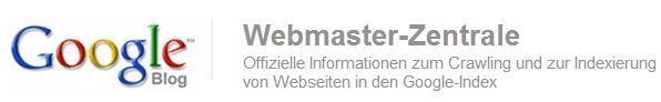 Logo Google Webmasterblog Deutsch