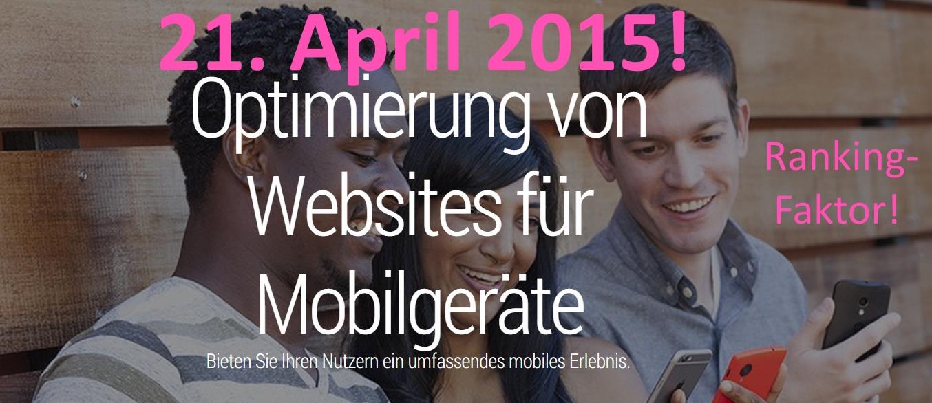 Mobile Web Ranking-Faktor