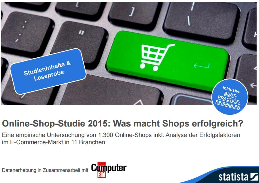Online-Shop-Studie 2015 statista