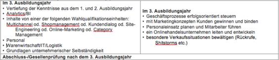 trafficmaxx - E-Commerce-Kaufleute 3. Lehrjahr