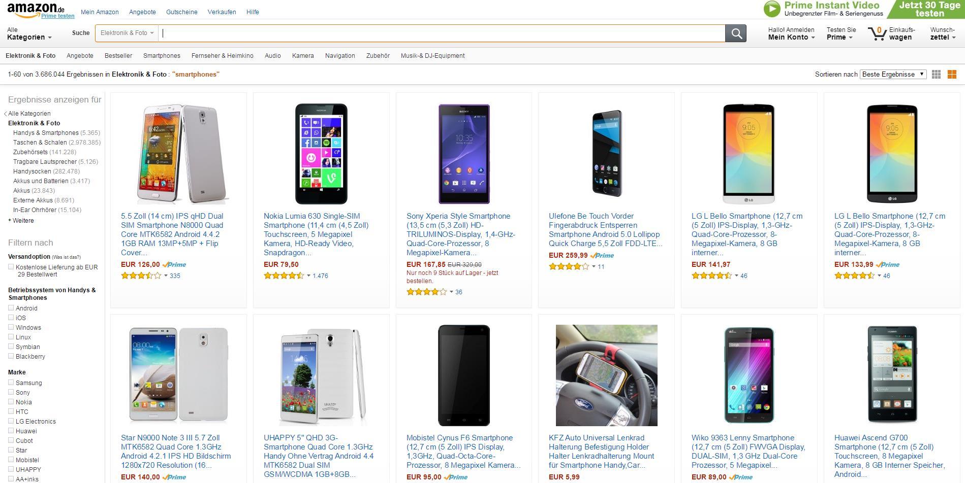 trafficmaxx - Amazon Produktsuche