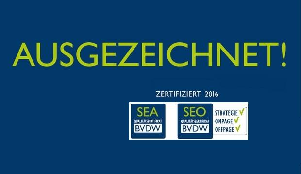 Logo BVDW Zertifikat 2016