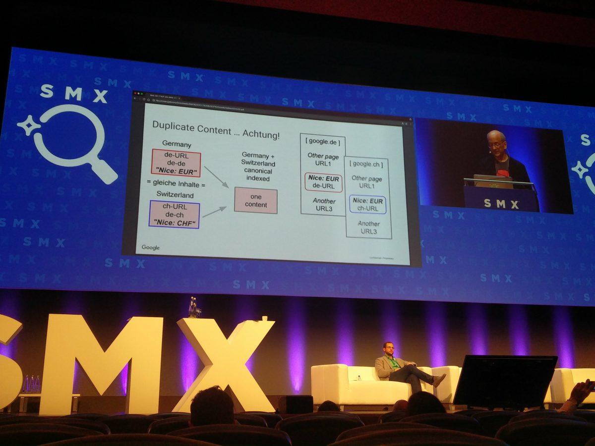 john-mueller-smx-2017-sprachtrennung-duplicate-content-achtung