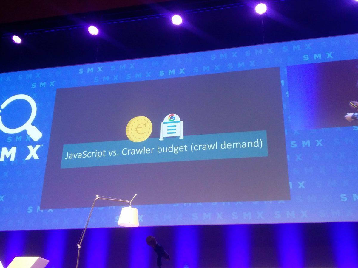 Bart Goralewicz: Crawl Budget / Crawl Demand versus JavaScript Framework