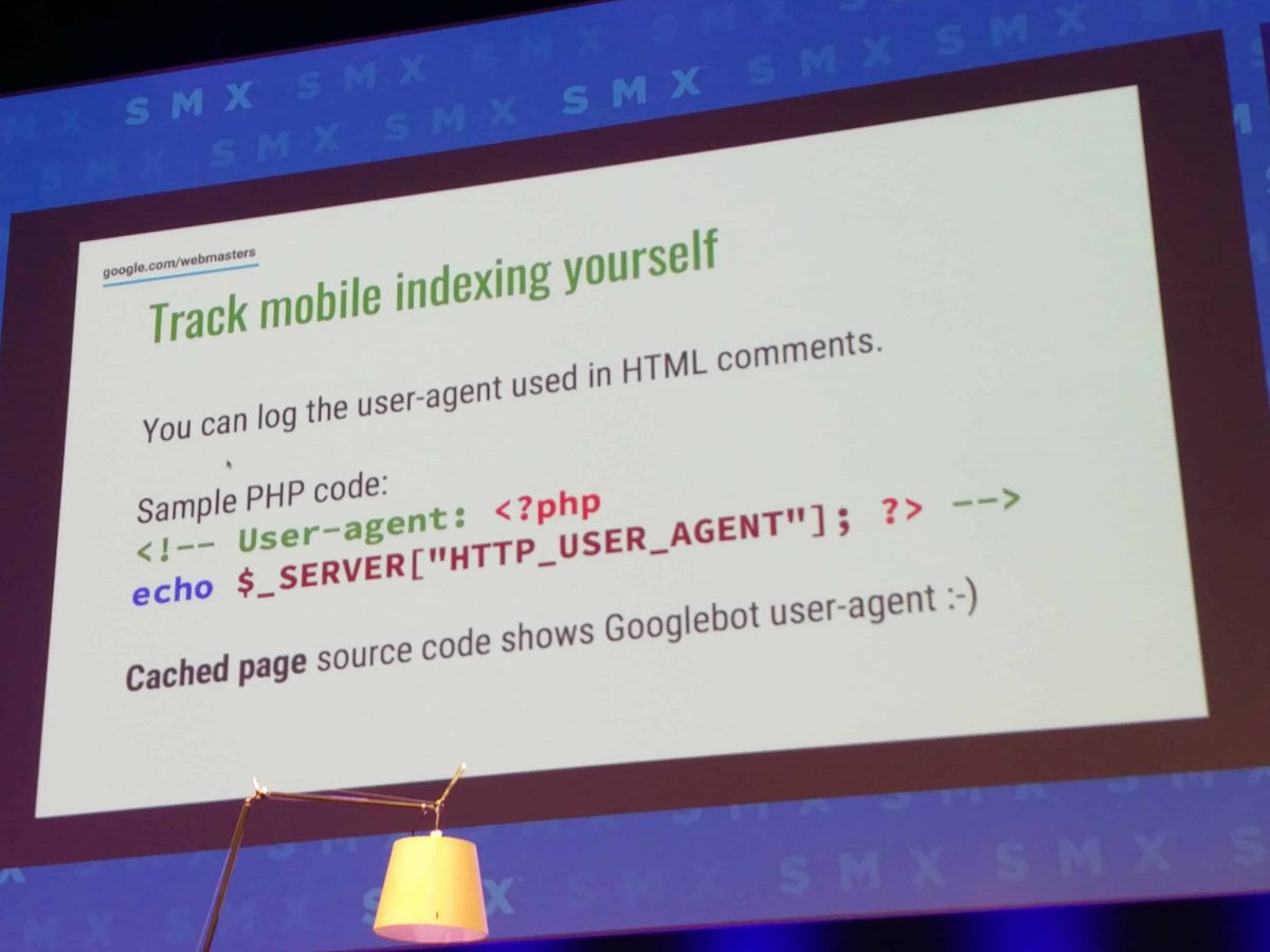 Google User Agent erkennen