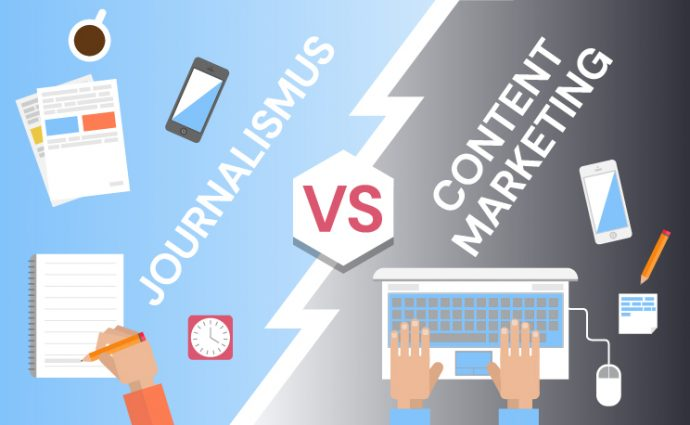 Journalismus vs. Content Marketing