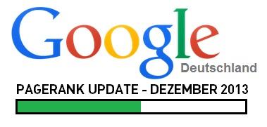 Google PageRank Update Dezember 2013