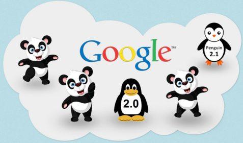 Illustration: Google Updates 2013