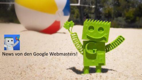 News Google Webmasters