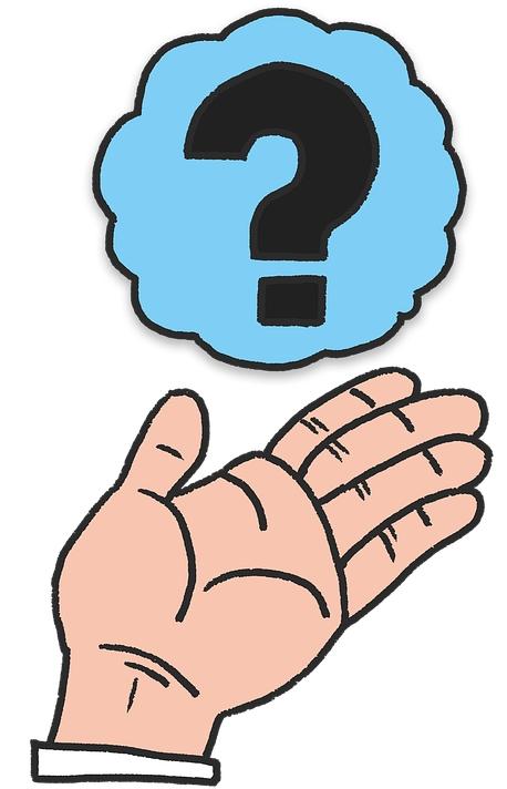 hand zeichnung fragezeichen frage antwort