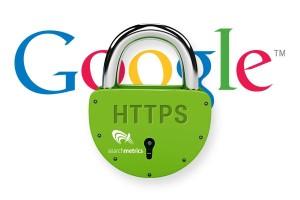 Logo Google und HTTPS