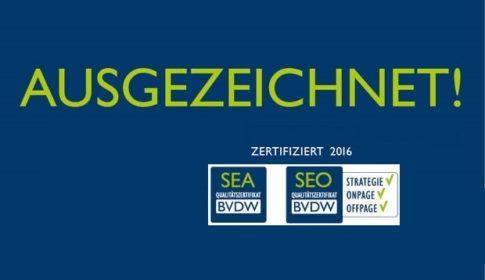 Logo BVDW-Zertifikat 2016