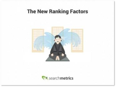 Grafik: Ranking Factors searchmetrics