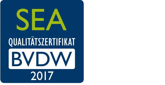 BVDW SEA Qualitätszertifikat 2017