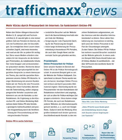 Newsletter 3: Online-PR