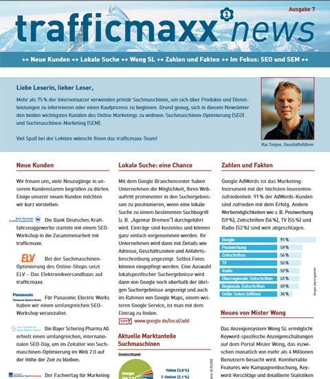 Newsletter 7: SEO und SEM, die wichtigsten Kanäle des Online Marketings