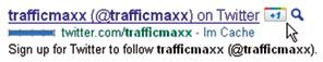 Auch Google selbst zeigt bei angemeldeten Mitgliedern von Google+ den +1 Button direkt bei den Suchergebnissen an.