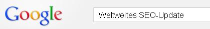 Google schaltet Update live