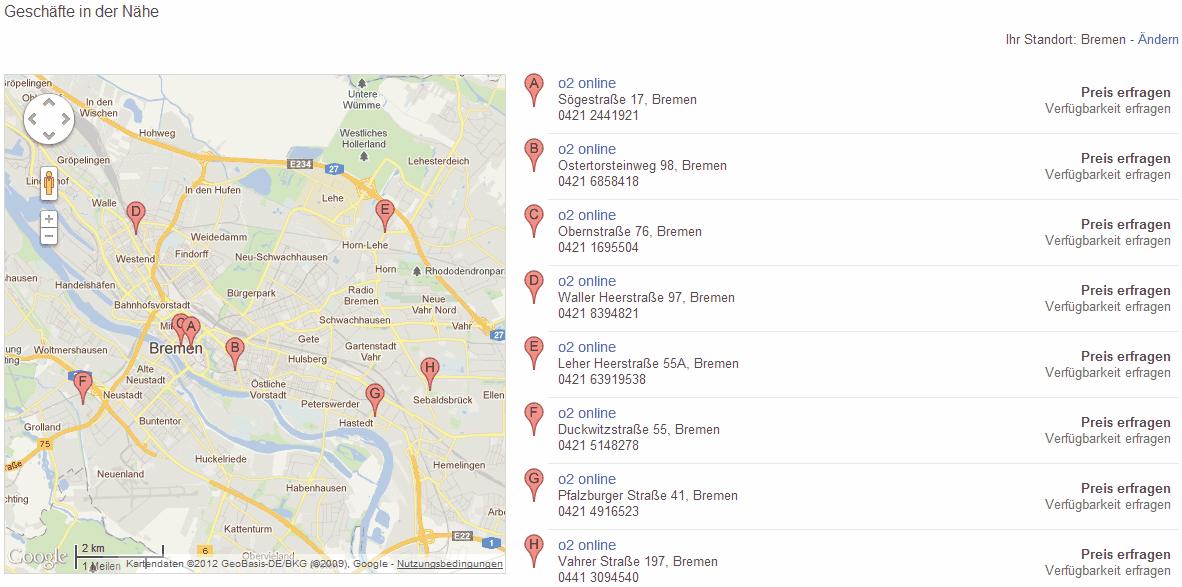 Google Shopping wird lokal