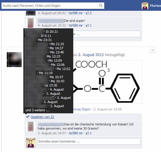 Funktion in Facebook-Gruppen