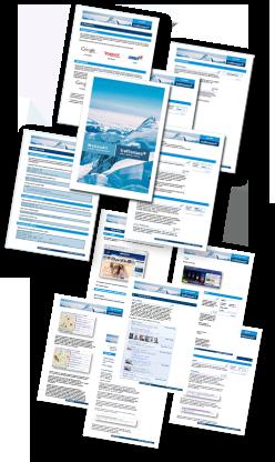 Ergebnis der Analyse ist dann ein umfangreiches Webaudit (Empfehlungskatalog), das die relevantesten Suchmaschinen-Kriterien auflistet und handlungsorientierte Empfehlungen zur Berücksichtigung und Umsetzung dieser Maßnahmen für die OnSite-Optimierung gibt.
