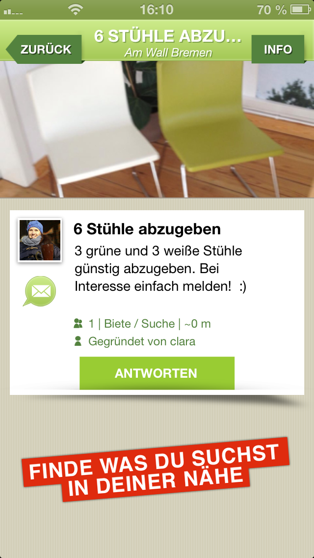 F1ELD Screenshot: Schwarzes Brett
