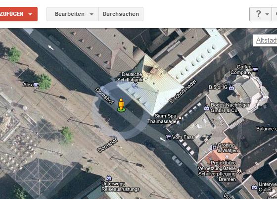 Fahrradwege Bei Google Maps