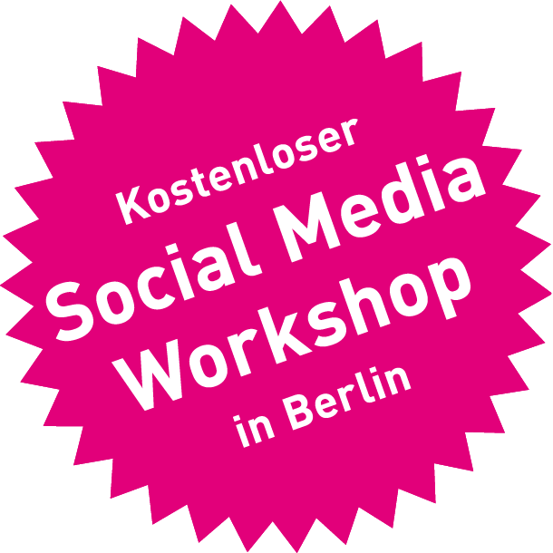 Kostenloser Social Media Workshop in Berlin