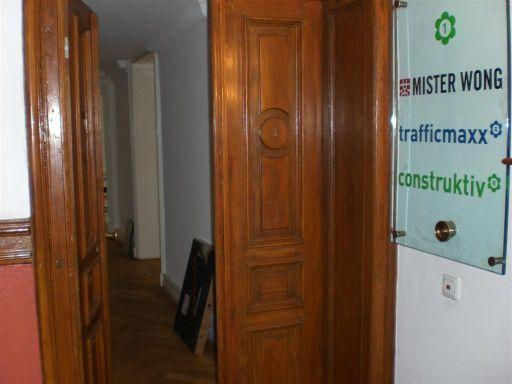 Eingang zum Büro