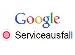 google-logo-serviceausfall
