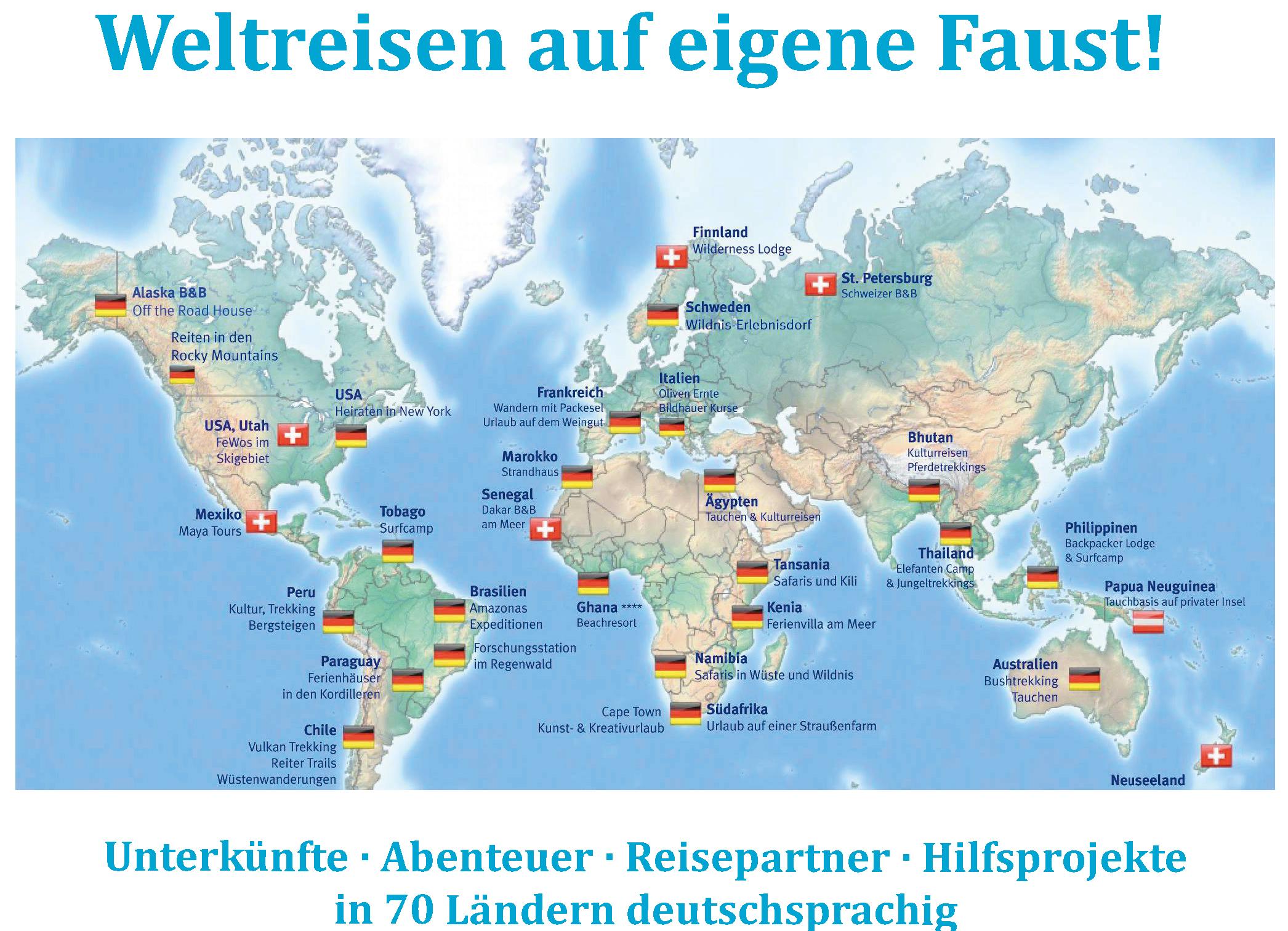 travel-friends.com - Weltreisen auf eigene Faust