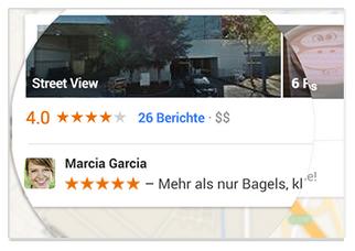 Google+ Soziale Empfehlungen1