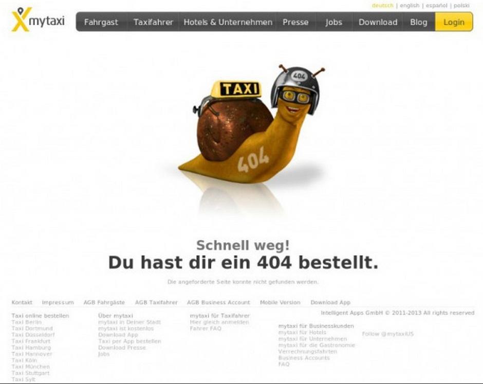 404 MyTaxi