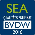 Zertifikat BVDW 2016 - SEA