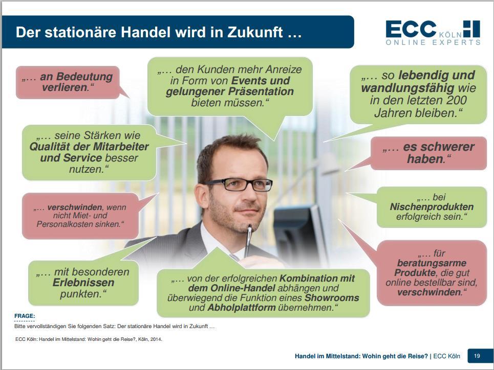 Der stationäre Handel wird in Zukunft … - ECC Köln Studie 5