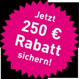 Jetzt 250,- € Rabatt sichern!