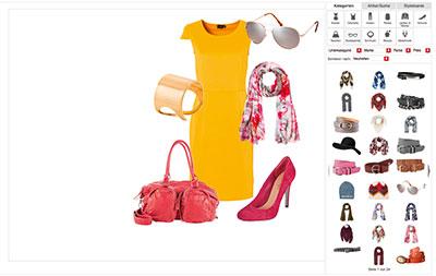 Mit dem Outfit-Designer von Stylefruits lassen sich eigene Styles gestalten