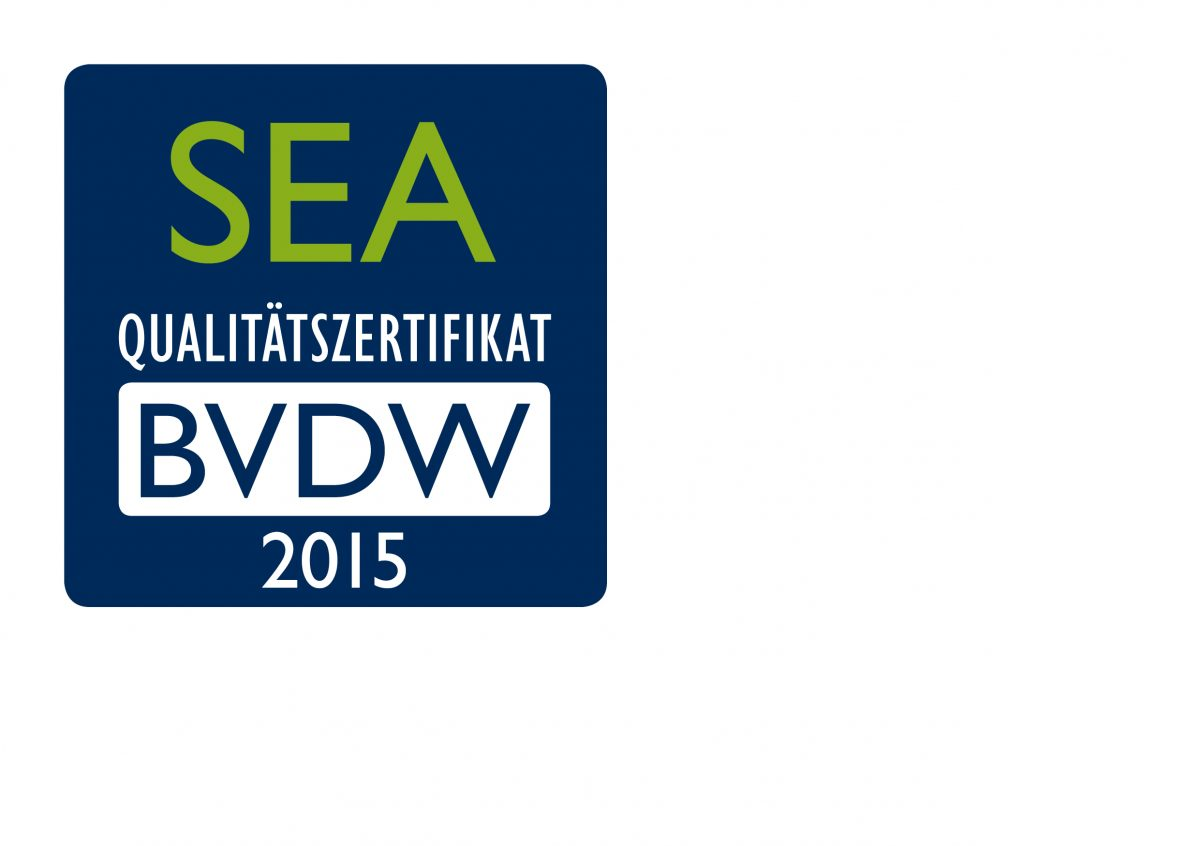 BVDW 2015 Zertifikat_Logos_SEA