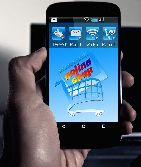 smartphone online shop